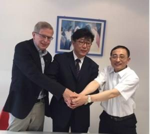 Vertragsunterzeichnung wg Pflege in BS mit der Jinzhou Medical University