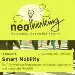 BWA lädt ein zum neoThinking Event am 14. November