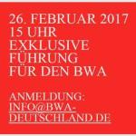 Museum Barberini - Exklusive BWA-Führung am 26. Februar